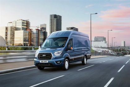 Ford Transit Crew Van 350 L3 RWD 2.0 EcoBlue MHEV RWD 130PS Limited Crew Van High Roof Manual [Start Stop] [DCiV]