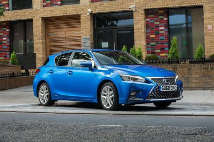 Lexus CT Hatchback 200h Hatch 5Dr 1.8 h 136PS F-Sport 5Dr E-CVT [Start Stop] [Convenience]