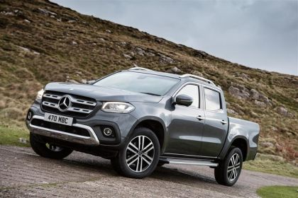 Mercedes-Benz X-Class Pickup X350 PickUp DoubleCab 4MATIC 3.0 CDi V6 4WS 258PS Power Pickup Double Cab G-Tronic+