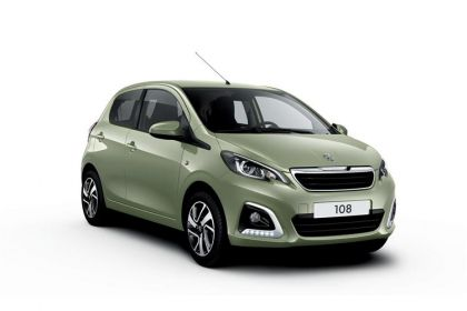 Peugeot 108 Hatchback Hatch 5Dr 1.0  72PS Allure 5Dr Manual [Start Stop]