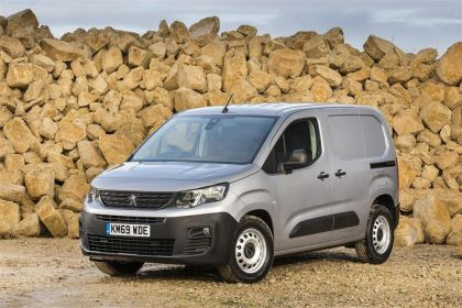 Peugeot Partner Van Standard 1000Kg 1.5 BlueHDi FWD 100PS Asphalt Van Manual