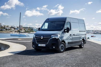 Renault Master Chassis Cab LWB 35 FWD 2.3 dCi ENERGY FWD 150PS Business Chassis Cab Manual [Start Stop]