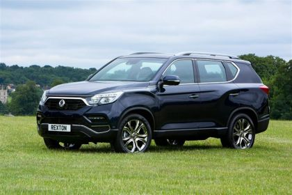 Ssangyong Rexton SUV SUV 4wd Selectable 2.2 D 181PS ELX 5Dr T-Tronic