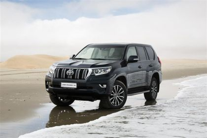 Lease Toyota LandCruiser van leasing