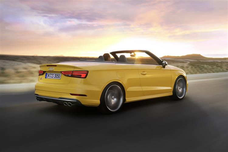 Audi A3 35 Cabriolet 2Dr 1.5 TFSI 150PS S line 2Dr S Tronic [Start Stop]