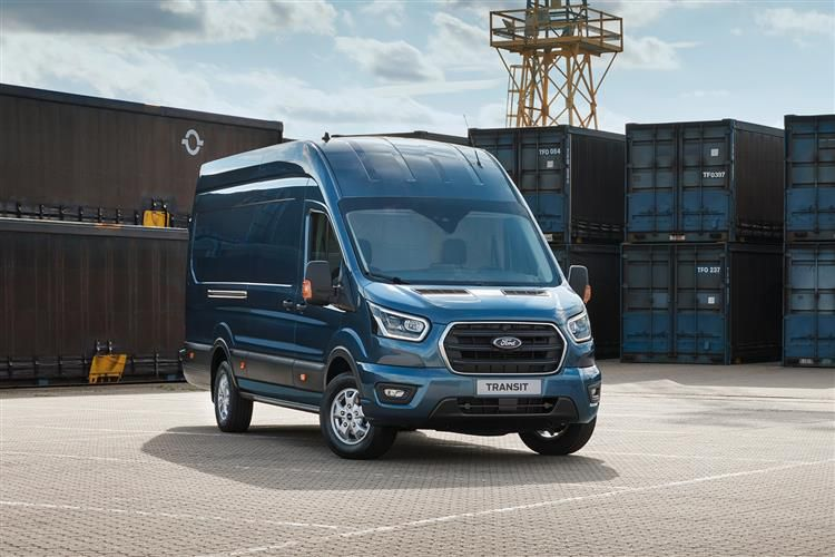 Ford Transit 350 L4 RWD 2.0 EcoBlue RWD 130PS Leader Chassis Cab Manual [Start Stop]