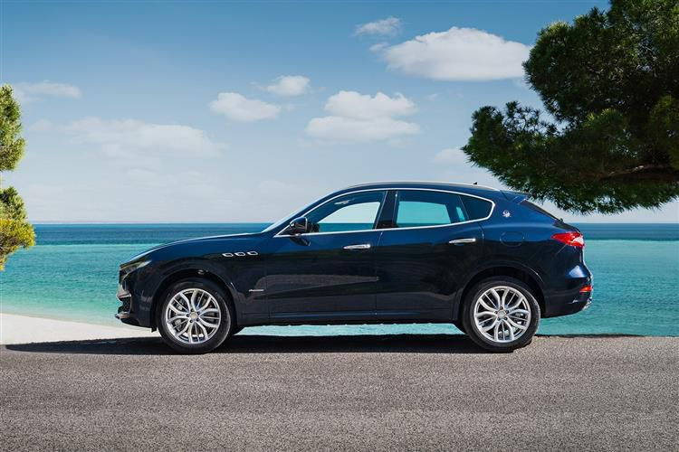 Maserati Levante SUV 4wd 3.0 V6 350PS GranSport 5Dr ZF [Start Stop] [Nerissimo]