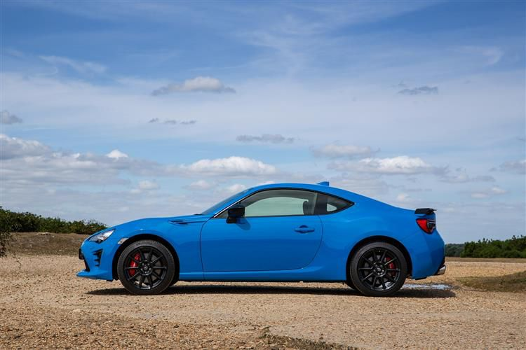 Toyota GT86 Coupe 2Dr 2.0 Boxer D-4S 200PS Club Series Blue Edition 2Dr Auto [Touch & Go Performance]
