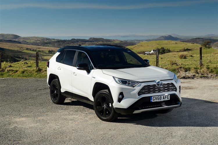 Toyota RAV4 SUV 2wd 2.5 VVT-h 218PS Black Edition 5Dr CVT [Start Stop]