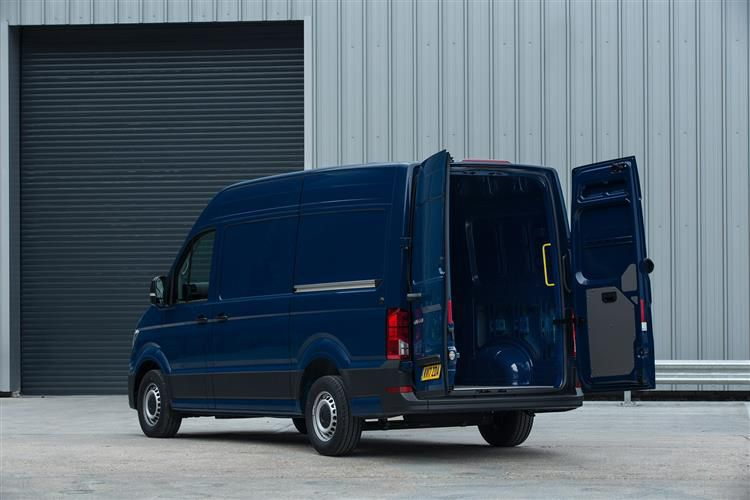 Volkswagen Crafter CR35MWB FWD 2.0 TDI FWD 140PS Startline Chassis Cab Manual [Start Stop]